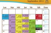 Eventos en Septiembre